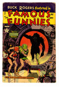 Golden Age (1938-1955):Science Fiction, Famous Funnies #213 (Eastern Color, 1954) Condition: GD....