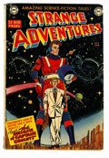 Golden Age (1938-1955):Science Fiction, Strange Adventures #9 (DC, 1951) Condition: GD/VG....