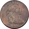 Large Cents, 1800/1798 1C Overdate, First Hair Style -- Improperly Cleaned --NGC Details. AU. S-191, B-2, R.3. MRB VF35. ...