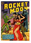 Golden Age (1938-1955):Science Fiction, Rocket to the Moon #nn (Avon, 1951) Condition: GD/VG....