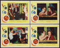 "Movie Posters:Drama, The Hustler (20th Century Fox, R-1964). Lobby Cards (4) (11"" X 14""). Drama.. ... (Total: 4 Items)"