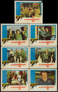"Movie Posters:War, The Longest Day (20th Century Fox, 1962). Lobby Cards (7) (11"" X14""). War.. ... (Total: 7 Items)"