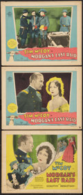 "Movie Posters:War, Morgan's Last Raid (MGM, 1929). Title Lobby Card and Lobby Cards(2) (11"" X 14""). War.. ... (Total: 3 Items)"