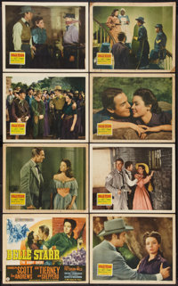 "Belle Starr (20th Century Fox, 1941). Lobby Card Set of 8 (11"" X 14""). Western. ... (Total: 8 Items)"