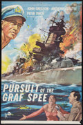 """Movie Posters:War, Pursuit of the Graf Spee (Rank, 1957). One Sheet (27"""" X 41""""). War....."""