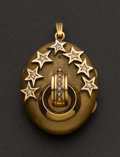 Estate Jewelry:Pendants and Lockets, Victorian Gold, Diamond & Pearl Locket. ...