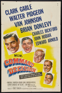 "Command Decision (MGM, 1948). One Sheet (27"" X 41""). War"