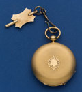 Timepieces:Pocket (pre 1900) , J. Breguet 42 mm 18k Gold Key Wind Pocket Watch With Chain. ...