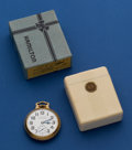 Timepieces:Pocket (post 1900), Hamilton 992 B Pocket Watch With Original Inner & Outer Boxes. ...