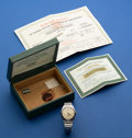 Timepieces:Wristwatch, Rolex Steel Oyster Perpetual Wristwatch For Restoration. ...