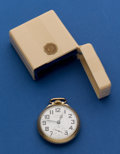 Timepieces:Pocket (post 1900), Hamilton 992 B Pocket Watch With Box. ...