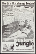 "Movie Posters:Sexploitation, West End Jungle (Atlantic Pictures, 1962). One Sheet (27"" X 41"").Sexploitation.. ..."