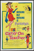 """Movie Posters:Comedy, Carry on Teacher (Governor Films, 1962). One Sheet (27"""" X 41""""). Comedy.. ..."""