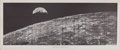 """Autographs:Celebrities, """"Historic First Photo of Earth from Deep Space"""" Signed by all Twenty-Nine Apollo Astronauts. ..."""