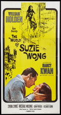"Movie Posters:Romance, The World of Suzie Wong (Paramount, 1960). Three Sheet (41"" X 79""). Romance.. ..."