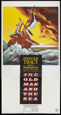 "Movie Posters:Adventure, The Old Man and the Sea (Warner Brothers, 1958). Three Sheet (41"" X81""). Adventure.. ..."