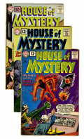 Silver Age (1956-1969):Horror, House of Mystery Group (DC, 1961-63) Condition: Average VG exceptas noted.... (Total: 18 Comic Books)