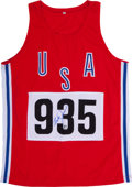 Olympic Collectibles:Autographs, Bruce Jenner Signed Jersey. ...