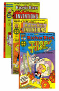Bronze Age (1970-1979):Cartoon Character, Richie Rich Inventions #1-26 File Copies Group (Harvey, 1977-82)Condition: Average NM-.... (Total: 75 Comic Books)
