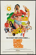"Movie Posters:Sexploitation, Summer School Teachers Lot (New World, 1975). One Sheets (2) (27"" X41""). Sexploitation.. ... (Total: 2 Items)"