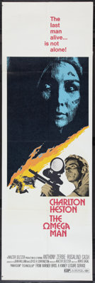 """The Omega Man (Warner Brothers, 1971). Door Panels (3) (20"""" X 60""""). Science Fiction. ... (Total: 3 Items)"""