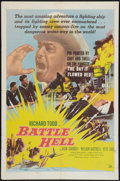 "Movie Posters:War, Battle Hell Lot (DCA, 1957). One Sheets (2) (27"" X 41""). War.. ...(Total: 2 Items)"