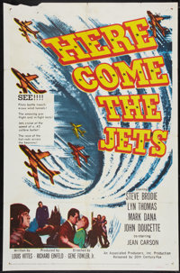 "Here Come the Jets Lot (20th Century Fox, 1959). One Sheets (2) (27"" X 41""). War. ... (Total: 2 Items)"