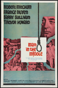 """Man in the Middle Lot (20th Century Fox, 1964). One Sheets (2) (27"""" X 41""""). War. ... (Total: 2 Items)"""