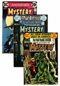 Bronze Age (1970-1979):Horror, House of Mystery Group (DC, 1972-74) Condition: Average VF....(Total: 19 Comic Books)