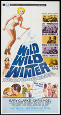 "Movie Posters:Rock and Roll, Wild, Wild Winter (Universal, 1966). Three Sheet (41"" X 81"") andLobby Card (11"" X 14""). Rock and Roll.. ... (Total: 2 Items)"