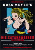 "Movie Posters:Sexploitation, Faster, Pussycat! Kill! Kill! (Erdfilm, R-1980). German A1 (23.25""X 33""). Sexploitation.. ..."