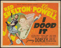 "Movie Posters:Musical, I Dood It (MGM, 1943). Title Lobby Card (11"" X 14""). Musical.. ..."