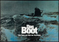 "Movie Posters:War, Das Boot (Columbia, 1981). Horizontal German A0 (33"" X 46.5"").War.. ..."