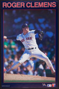 Baseball Collectibles:Photos, Roger Clemens Signed Oversized Promotional Broadside....