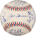 Baseball Collectibles:Balls, 1997 American League All Stars Team Signed Baseball (30Signatures)....
