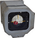 Transportation:Space Exploration, Apollo Early Block I Training-Used Command Module Flight DirectorAttitude Indicator (FDAI)....