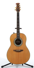 Musical Instruments:Acoustic Guitars, Ovation 1617 Natural Electric Acoustic Guitar, #128528...
