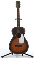 Musical Instruments:Acoustic Guitars, Vintage Harmony S-65 Sunburst Acoustic Guitar # N/A...