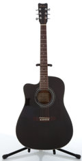 Musical Instruments:Acoustic Guitars, Hofner HW440LG-TBK Black Acoustic Guitar #2064102947...