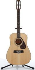 Musical Instruments:Acoustic Guitars, 1980's Yamaha PF12-301 Natural 12 String Folk Acoustic Guitar Serial# 60803. ...