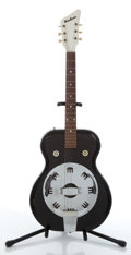 Musical Instruments:Resonator Guitars, 1964 Airline Res-O-Glass Resonator Guitar Serial #1-51614 ...