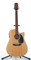Musical Instruments:Acoustic Guitars, 1990's Takamine G Series EG530SSC Acoustic/Electric Guitar #4855656...
