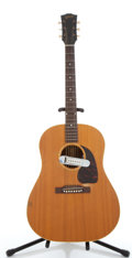 Musical Instruments:Acoustic Guitars, Vintage Gibson J-50 Natural Acoustic Guitar #7316....