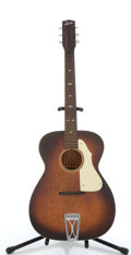 Musical Instruments:Acoustic Guitars, Vintage Stella 54-T Sunburst Acoustic Guitar #2893H114....