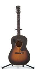 Musical Instruments:Acoustic Guitars, Vintage Gibson LG-1 Sunburst Acoustic Guitar # N/A....
