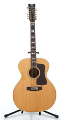 Musical Instruments:Acoustic Guitars, Hohner 731 Natural Jumbo Acoustic Guitar #08837....