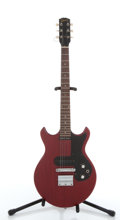 Musical Instruments:Electric Guitars, 1965/1968 Gibson Melody Maker Cherry Electric Guitar #507728....