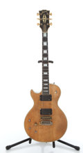 Musical Instruments:Electric Guitars, 1970's Gibson Les Paul Left Handed Natural Electric Guitar#040144....