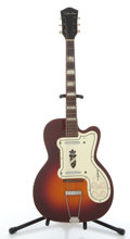 Musical Instruments:Electric Guitars, Vintage Silvertone Cherry Burst Electric Guitar #N/A....