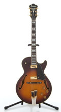Musical Instruments:Electric Guitars, Ibanez GB-10 George Benson Sunburst Archtop Electric Guitar#1168....
